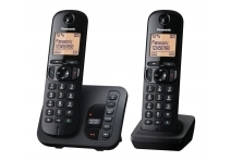 Panasonic KX-TGC220EB DECT TAM Call Blocker with Answering Machine Twin
