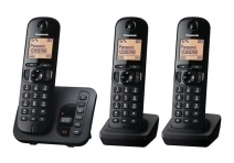 Panasonic KX-TGC220EB DECT TAM Call Blocker with Answering Machine Trio