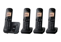 Panasonic KX-TGC220EB DECT TAM Call Blocker with Answering Machine Quad