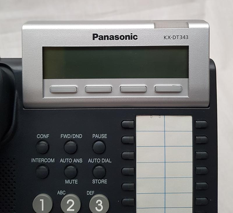 Panasonic Kx Dt343 Digital Terminal